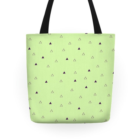 Triangle Pattern Tote Tote