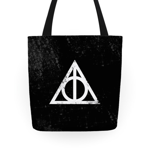 Deathly Hallows Symbol Tote
