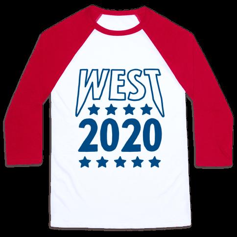 West 2020 Baseball Tee