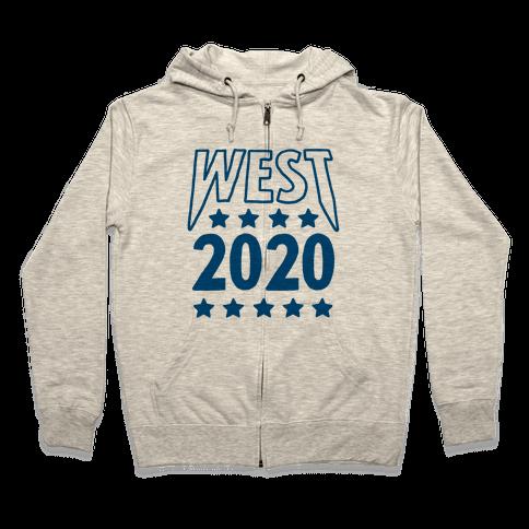 West 2020 Zip Hoodie
