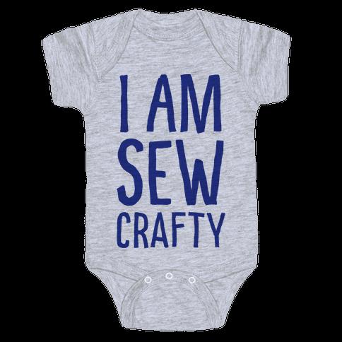 I Am Sew Crafty Baby Onesy
