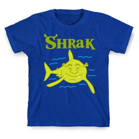Shrak Shrek The Shark T-Shirt
