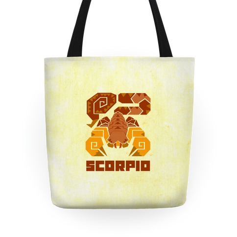 Monster Hunter Astrology Sign: Scorpio Tote