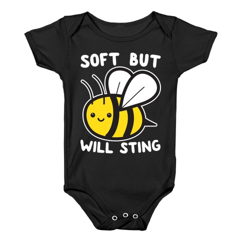 Soft But Will Sting Bee Baby Onesy