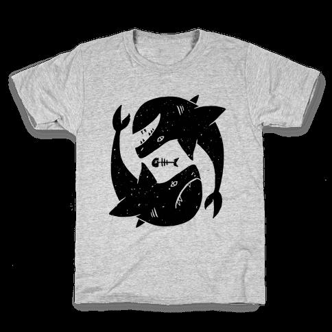 Infinite Sharks Kids T-Shirt