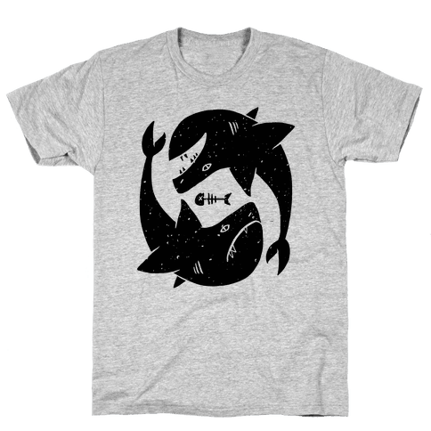 Infinite Sharks Mens T-Shirt