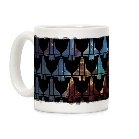 Eagle Nebula Space Race Coffee Mug