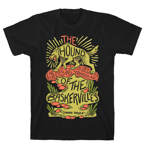 The Hound Of The Baskervilles Mens T-Shirt