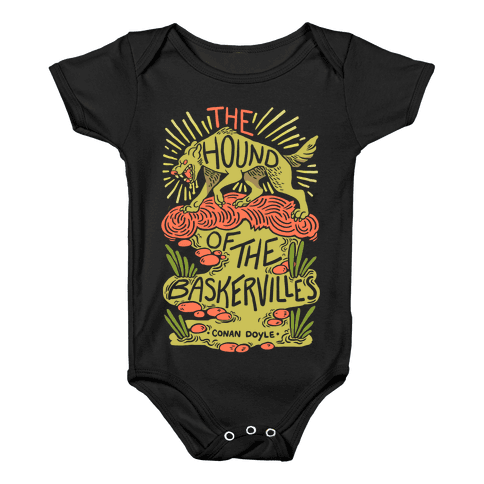 The Hound Of The Baskervilles Baby Onesy