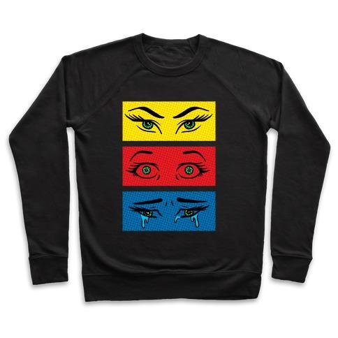 Pop Art Eyes Pullover