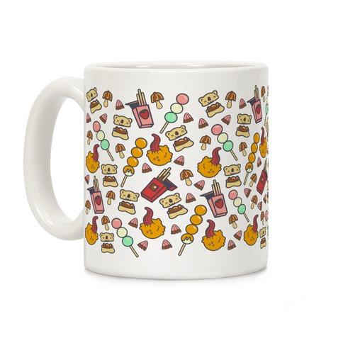 Japanese Snacks and Candy Coffee Mug