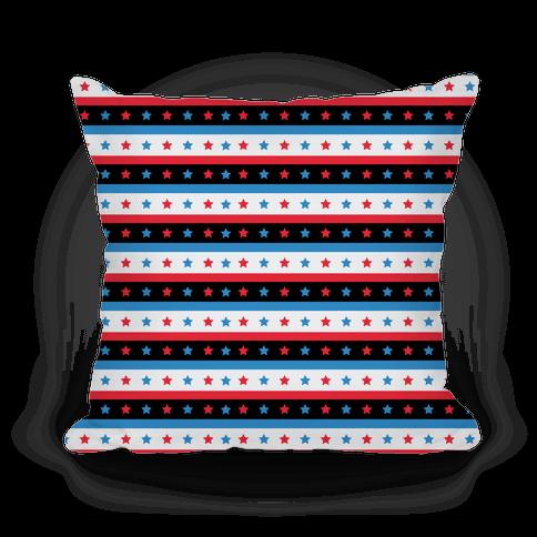 USA Stars and Stripes Pattern