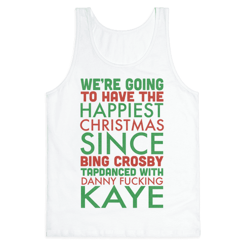 A Happy Christmas Tank Top