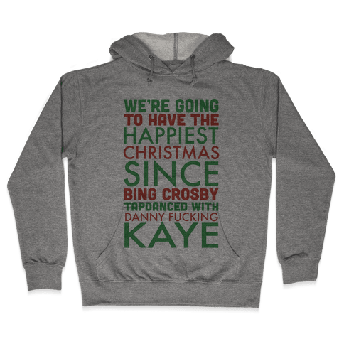 A Happy Christmas Hooded Sweatshirt