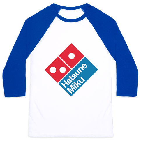 Miku Pizza Baseball Tee