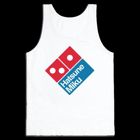 Miku Pizza Tank Top