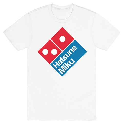 Miku Pizza T-Shirt