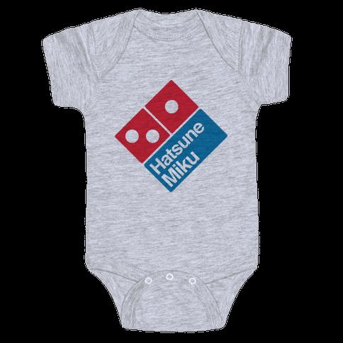 Miku Pizza Baby Onesy