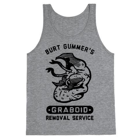 Burt Gummer's Graboid Removal Service Tank Top