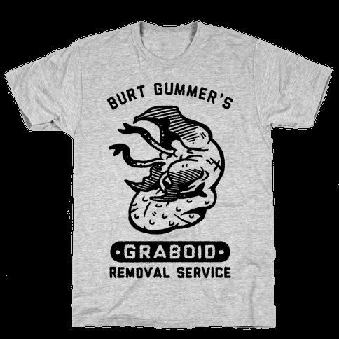 Burt Gummer's Graboid Removal Service Mens T-Shirt