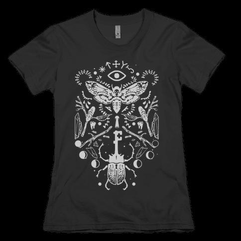 Occult Musings Womens T-Shirt