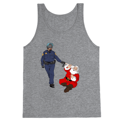 Pike and Santa Tank Top