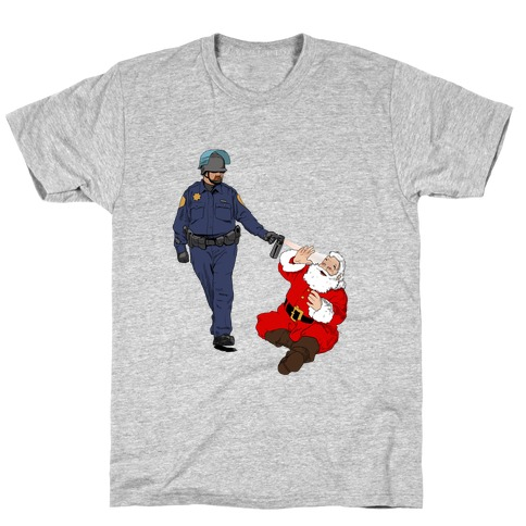 Pike and Santa T-Shirt