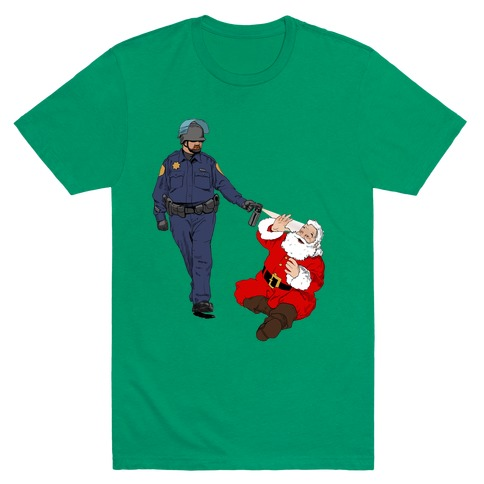 Pike and Santa T-Shirt