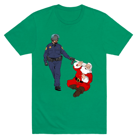 Pike and Santa Mens T-Shirt