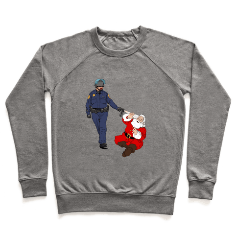 Pike and Santa Pullover