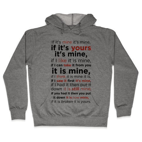 Baby Laws of Possession Hooded Sweatshirt