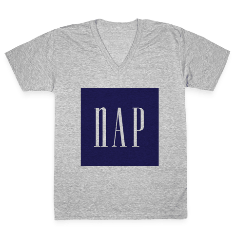 Nap V-Neck Tee Shirt