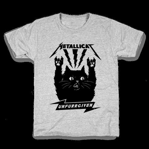 Metallicat Unfurrgiven Black Edition Kids T-Shirt