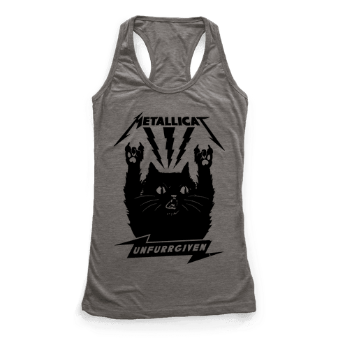 Metallicat Unfurrgiven Black Edition Racerback Tank Top