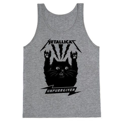 Metallicat Unfurrgiven Black Edition Tank Top