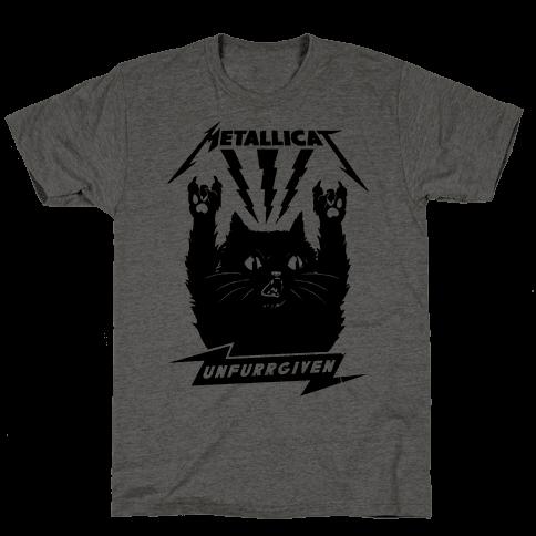 Metallicat Unfurrgiven Black Edition Mens T-Shirt
