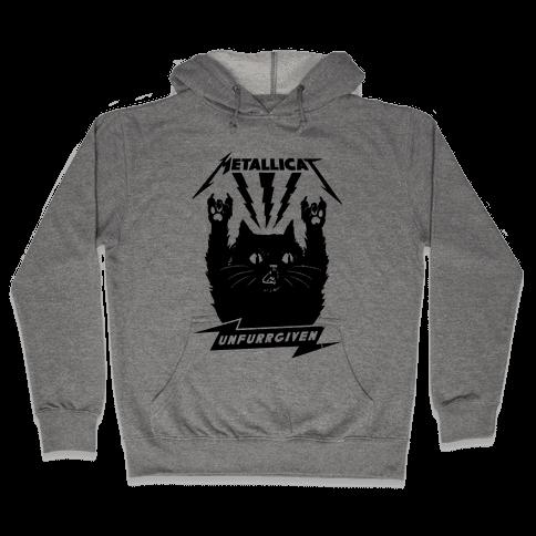 Metallicat Unfurrgiven Black Edition Hooded Sweatshirt