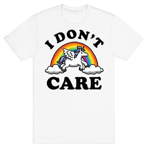 I Don't Care Unicorn T-Shirt
