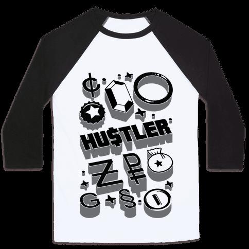 Game Money Hustler Baseball Tee