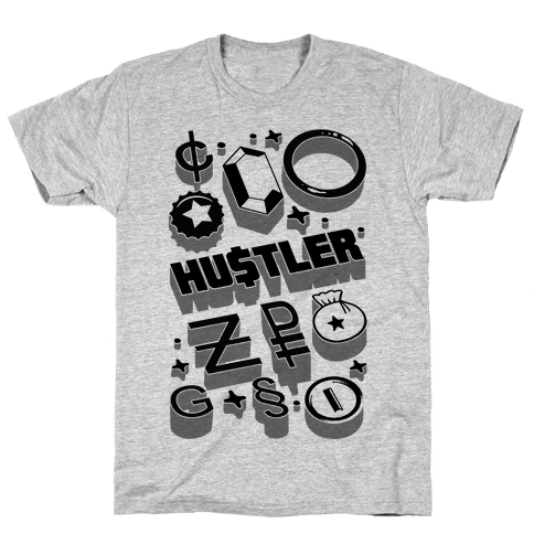 Game Money Hustler Mens T-Shirt