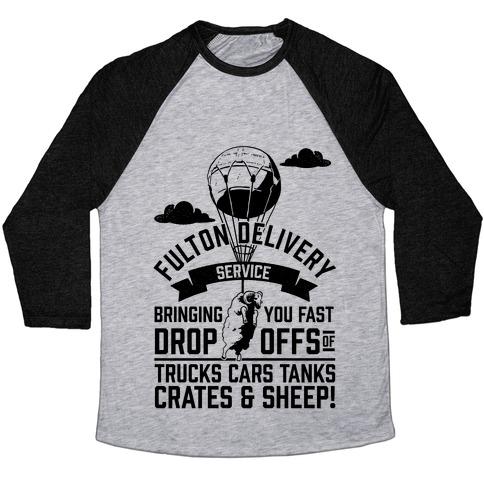 Fulton Delivery Service Baseball Tee