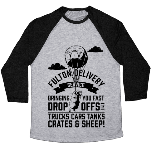 Fulton Delivery Service Baseball Tee