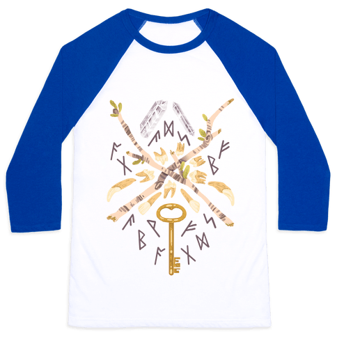 Occult Divination Collection Baseball Tee