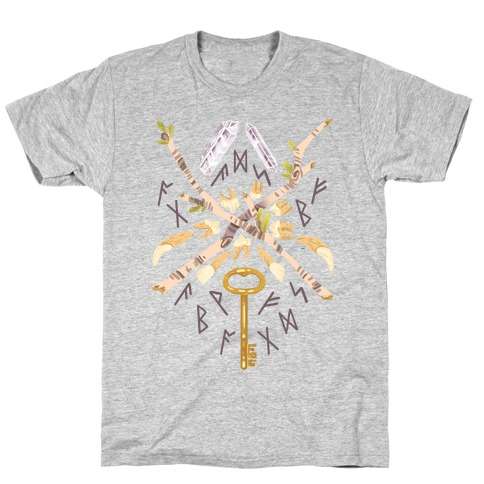 Occult Divination Collection Mens/Unisex T-Shirt