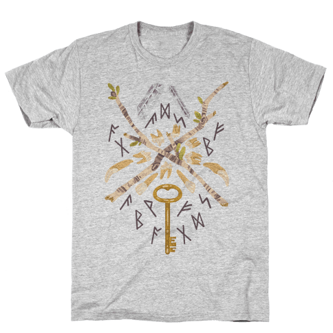 Occult Divination Collection Mens T-Shirt