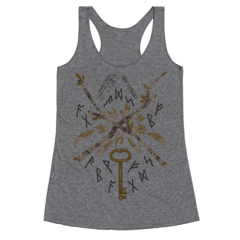 Occult Divination Collection Racerback Tank Top