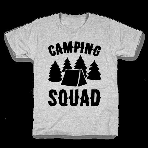 Camping Squad Kids T-Shirt