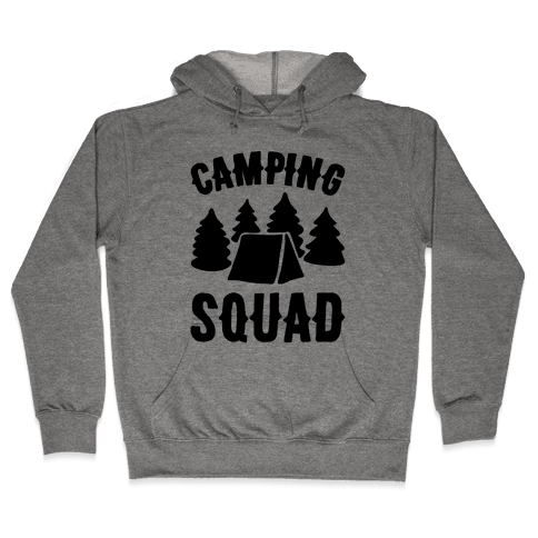 Camping Squad Hooded Sweatshirt