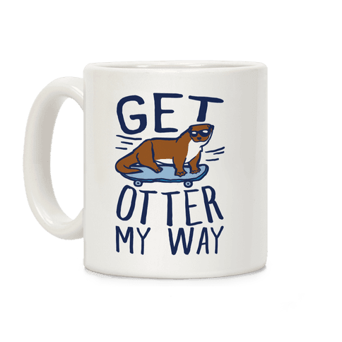 Get Otter My Way Coffee Mug
