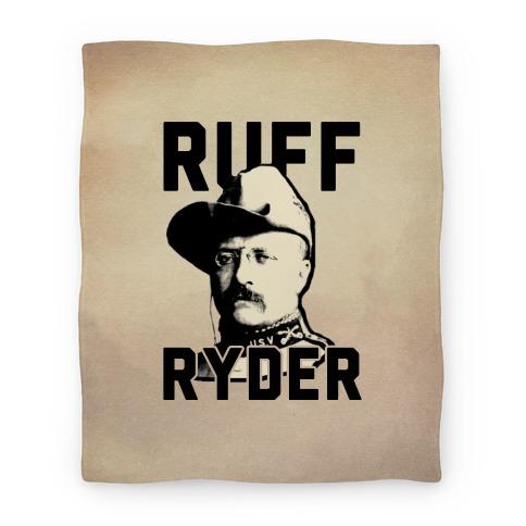 Ruff Ryder Theodore Roosevelt Blanket